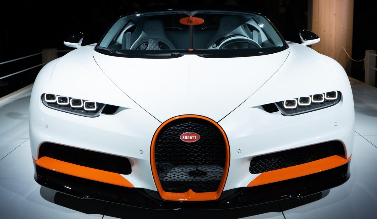 Nejrychlejší auta světa v podání vozu Bugatti