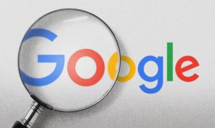 Vyhledávač Google.cz s lupou